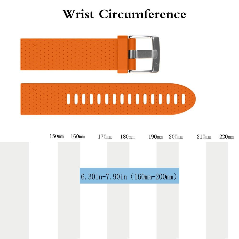 Correa de silicona de repuesto de ajuste rápido de 20 mm de ancho - Accesorios para relojes - foto 4