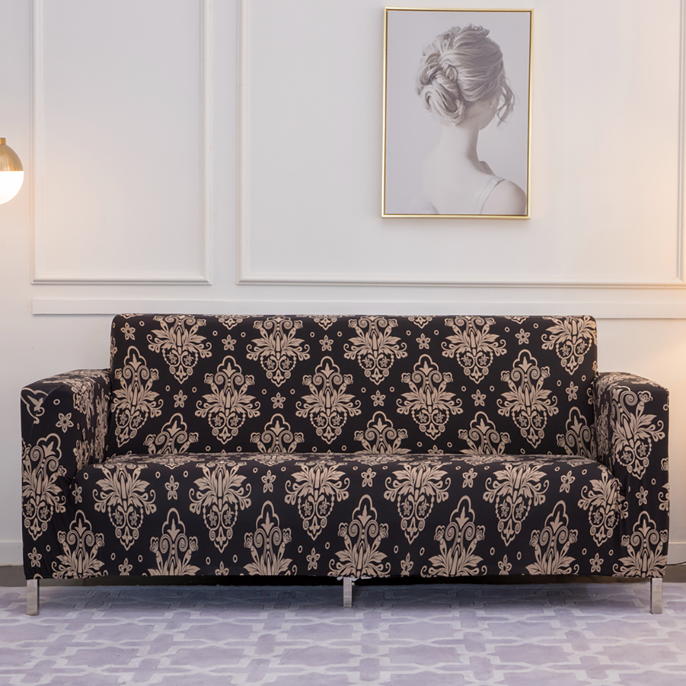 Prime Elastic Sofa Cover Slipcovers L Shape Sofa Covers For Living Room Spandex Cheap Sectional Couch Cover 1 2 3 4 Seater Stretch Machost Co Dining Chair Design Ideas Machostcouk