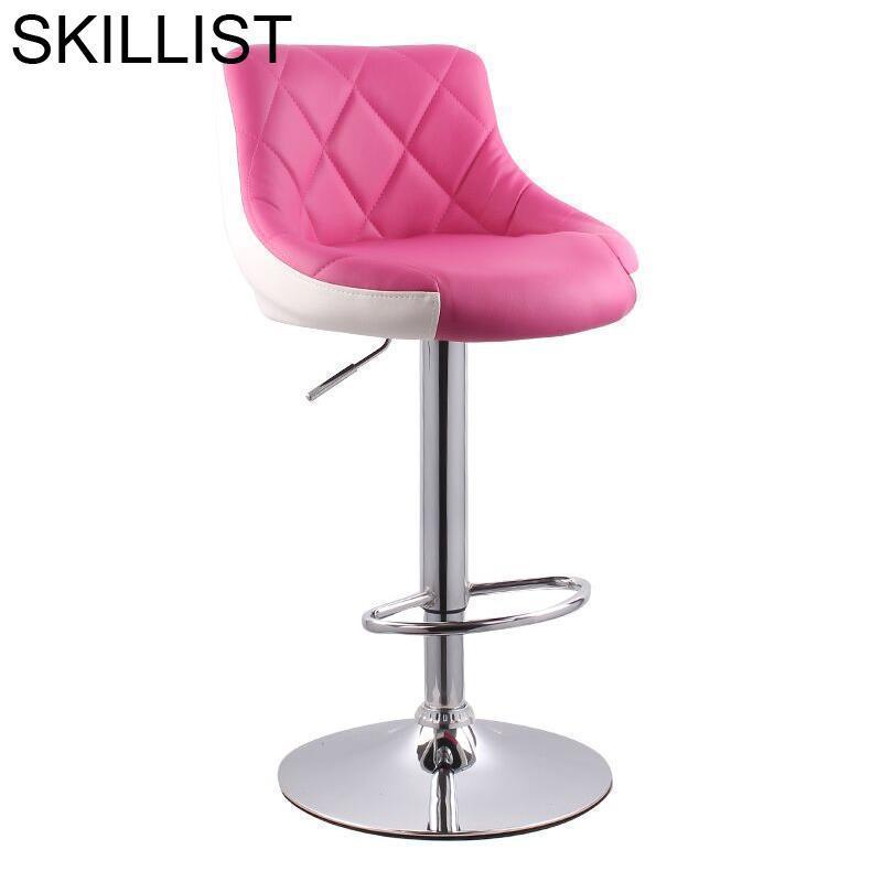 Stoel La Barra Fauteuil Sandalyesi Bancos De Moderno Hokery Taburete Table Leather Silla Cadeira Stool Modern Bar Chair
