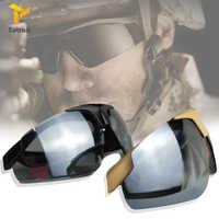 Totrait Taktischen Schutzbrillen UV400 Schutze Daisy C1 Airsoft schießen Motorrad Sonnenbrille Sport bike gläser motor männer Brille