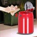 Интеллектуальная Индукционная мусорная корзина свинка Копилка из нержавеющей стали Настольная мини умная мусорная корзина кухня Poubelle 1.5L/2....