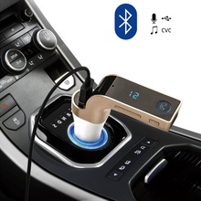 Car-Adapter-Kit Usb-Charger Aux-Player Fm Transmitter Music Bluetooth Wireless MP3 LCD