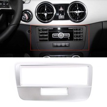 For Mercedes Benz GLK 2013 2014 2015 Car Voice Mode Panel Cover Frame Sticker Interior Car Accessory Styling