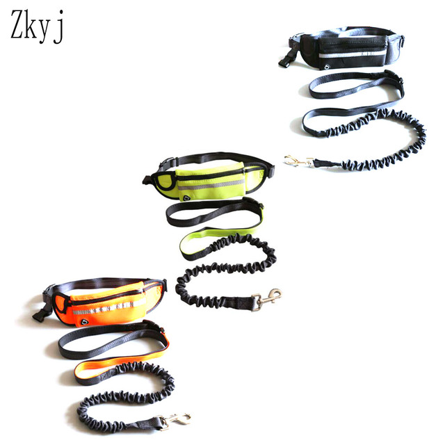 Pet Pocket Running Two-Piece Traction Rope  2