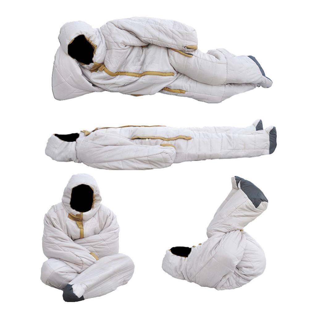 Спальный мешок в форме человека для альпинизма, удобный на молнии для путешествий, кемпинга, походов, аксессуаров, спальный мешок для палато... - 2