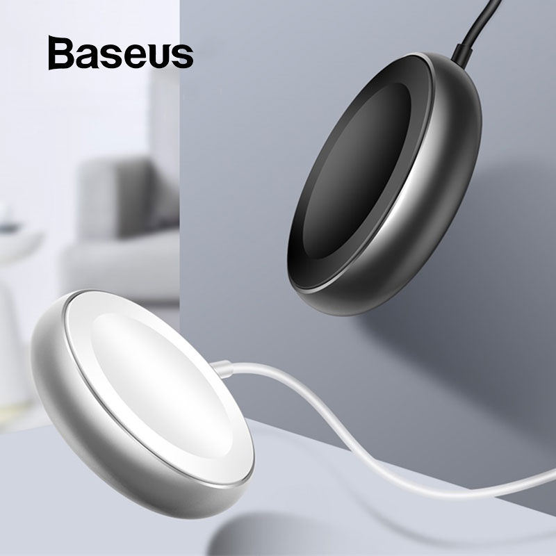 Image 1 - Baseus Wireless Charger for Apple Watch Series 4/3/2/1 Built in USB Cable Wireless Magnetic Charging for Apple Watch USB Charger-in Mobile Phone Chargers from Cellphones & Telecommunications