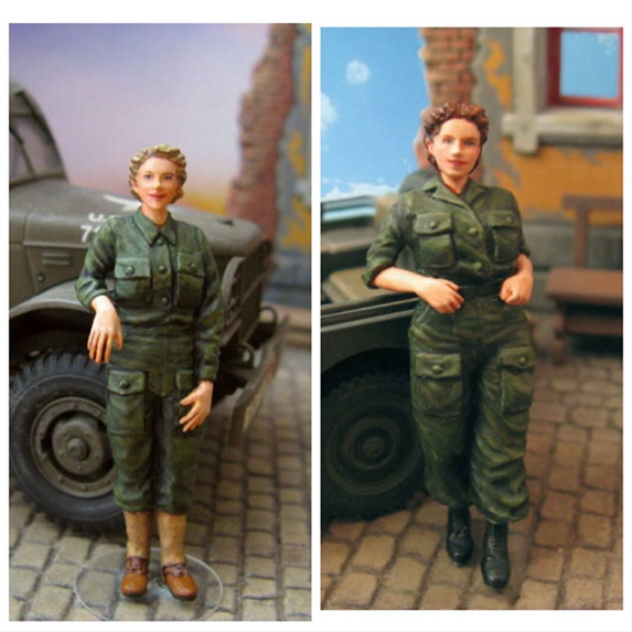 1:35  World War II US Army Field Nurses Group (2 Figures)