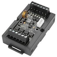 PLC לתכנות היגיון בקר FX1N 10MT בקרה תעשייתית לוח DC 24V ממסר עיכוב מודול עם מעטפת