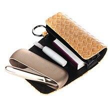Flip Double Book สำหรับ Iqos 3.0 Duo พร้อมแหวนผู้ถือกระเป๋ากระเป๋าสตางค์หนังสำหรับ Iqos 3.0อุปกรณ์เสริม