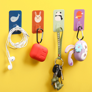 10pcs Key hook free punching s