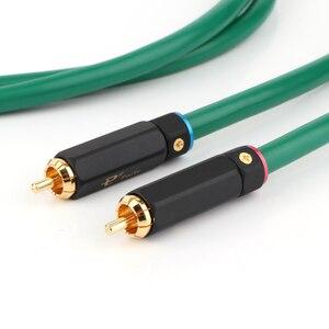 Image 4 - Hifi Audio Interconnect Kabel 2328 Vergulde 2RCA Kabel Hoge Kwaliteit 6N Ofc Hifi Rca Male Naar Male Audio kabel