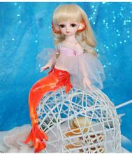 AETOP BJD bebek 1/6 BJD/SD bebek serin riko top ortak bebek sevimli denizkızı sürümü