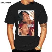 Билл и Тед прессованные ТРАПЕЦИЕВИДНОЕ ПЛАТЬЕ С белый взрослая Футболка мужская футболка, женские топы, футболки, 100% хлопок Комплект: футбо...