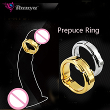 купить 2 Dia for choose adjustable 5 size Magnetic physiotherapy metal V type Circumcision erection penis cock Ring Sex Toy male дешево
