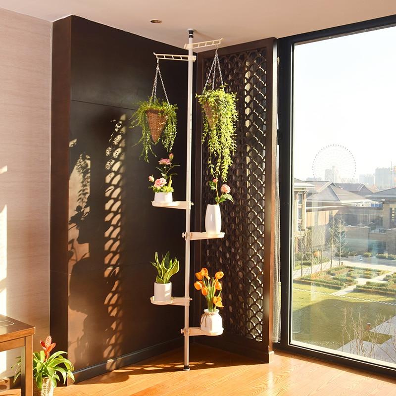 Of Spirit Suspension Type Balcony A Living Room Corner To Ground Flower Rack Multi-storey Green Luo Indoor Corner Flower Airs