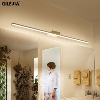 Светодиодный зеркальный настенный светильник AC90-260V настенный промышленный светильник для ванной комнаты водонепроницаемый светильник из ...