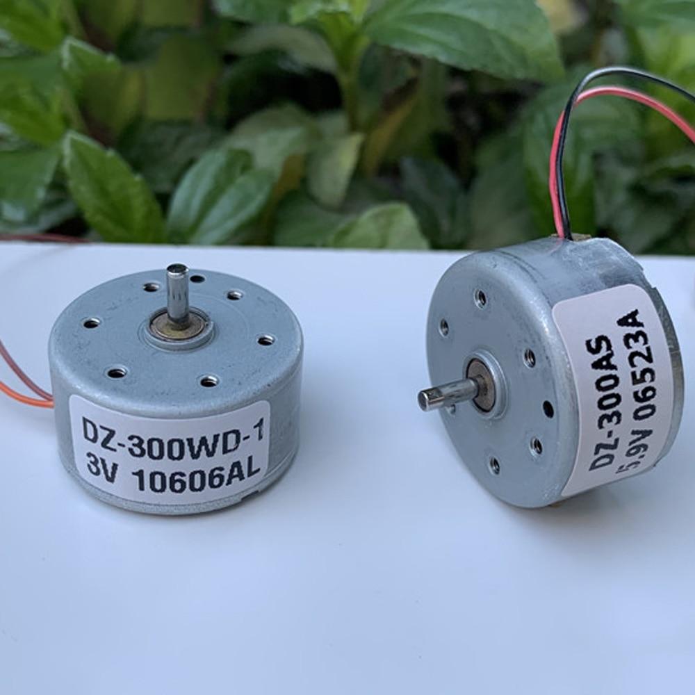 DC 3V 5V 6V 11000RPM RF-300CA Solar Power Round Motor Low Noise Large Torque DIY