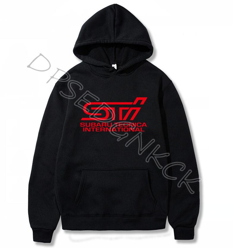 STI Logo Hoodies Car Fashion Top Brand Clothing Spring Autumn Male Casual Hoodies Sweatshirts Men And Women Sweatshirt A183