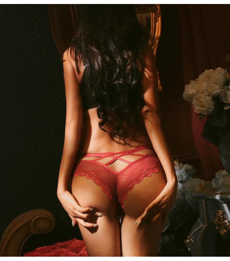 Sexy string transparent