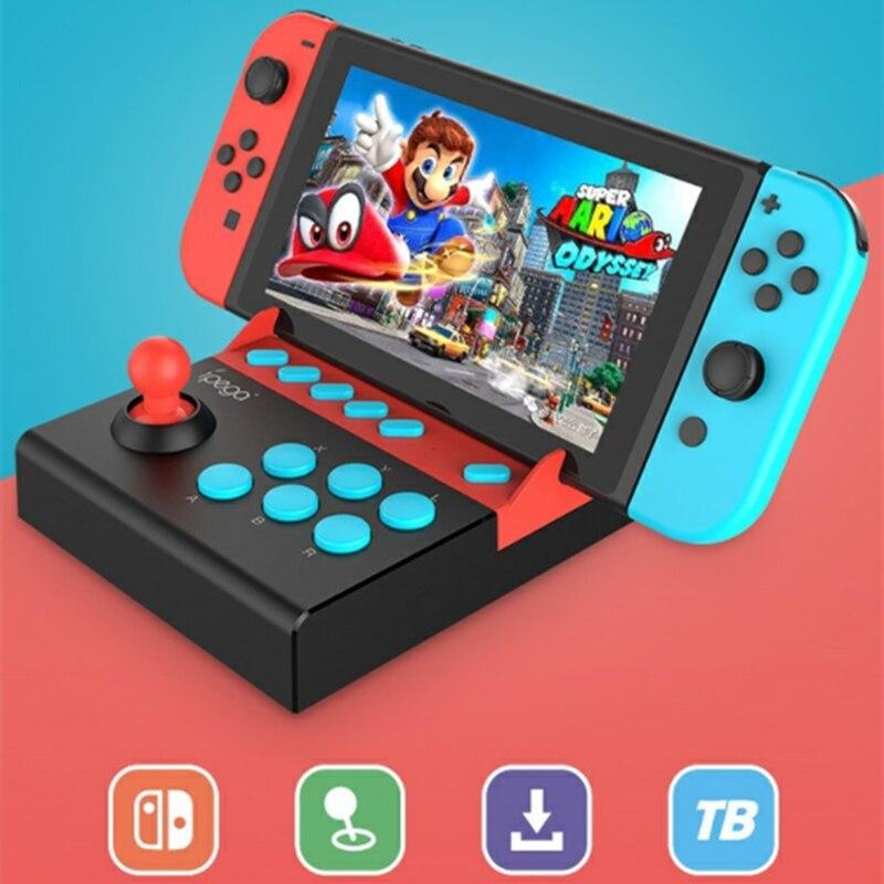 Arcade Joystick for Nintend Switch Plug&Play Single Rocker Control Joypad Gamepad Switch Game Console