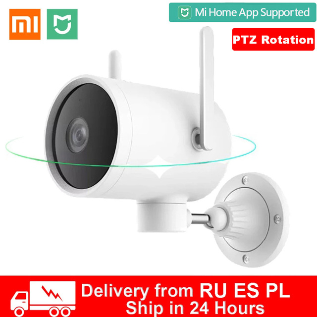 Xiaomi Smart Outdoor Camera Waterproof IP66 IP camera AI Human Detection webcam 270 Angle 1080P WIFI Night vision for Mihome APP