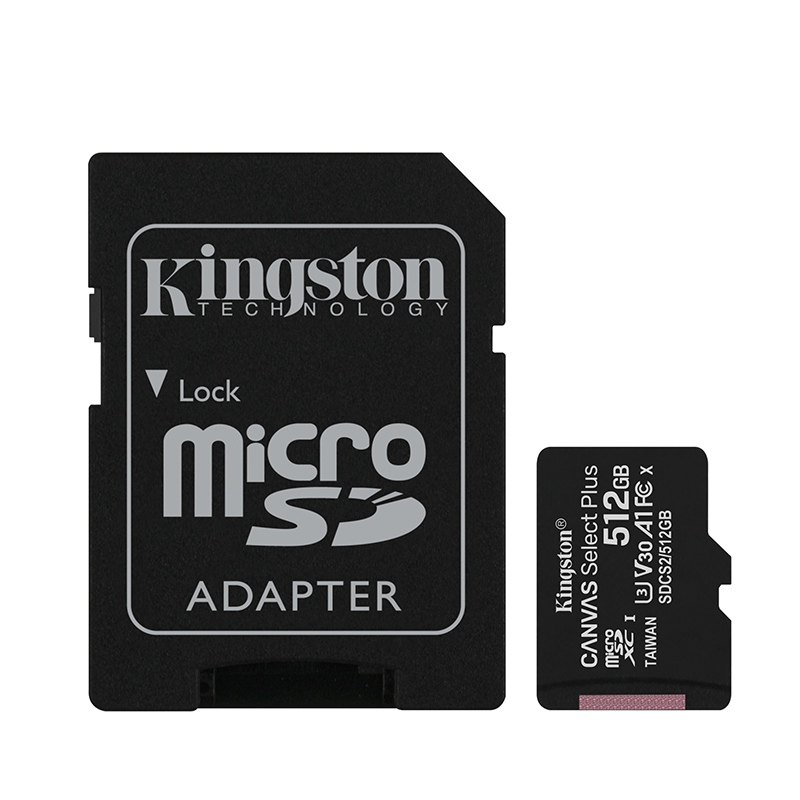 Kingston Canvas Select 64 GB Micro SD Karte Speicherkarte MicroSDXC 64GB Memory