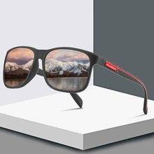 Óculos de sol masculino polarizado, óculos masculino polarizado de luxo, vintage, para sombra uv400 2020