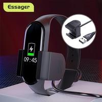 Essager USB Ladegerät Für Xiaomi Mi Band 4 Dock Clip Schnelle Ladekabel Für Xiaomi Miband 4 Mi Band4 Schnur adapter Zubehör