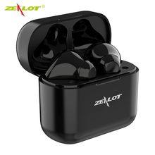 T3 tws fones de ouvido sem fio fones esporte bluetooth controle toque alta fidelidade mini ao ar livre com chamada hd microfone