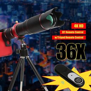 Image 2 - ALLOYSEED Universale 4K HD 36X Zoom Ottico Dellobiettivo di Macchina Fotografica Teleobiettivo Mobile Phone Telescope per Smartphone Cellulare lente Nuovo