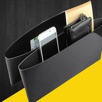 Multifuncional assento de carro motorista lado bolso caixa de armazenamento assento de carro enchimento gap organizador do carro titular copo