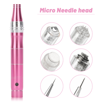 10/50pcs Dr Pen Cartridge Needles Screw Port for Derma Pen Nano/9 Pin/12 Pin/36 Pin Micro Needle Replacement Head for Dr Pen 100pieces 9 12 36 42 pin cartridges for dr pen anti aging micro needles replaced cartridge for meso derma pen dermaroller
