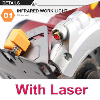 20V Cordless 5.5-Inch Circular Saw With 1PC 140mm Disc Saw Blades Electric Woodworking Tools,4000mAh Li-ion Circular Saw NEWONE