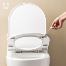 Jordan&Judy Silicone Toilet Cover Household Anti-dirty Hand Uncovering Circle Lifting Sticke Splitting Handle