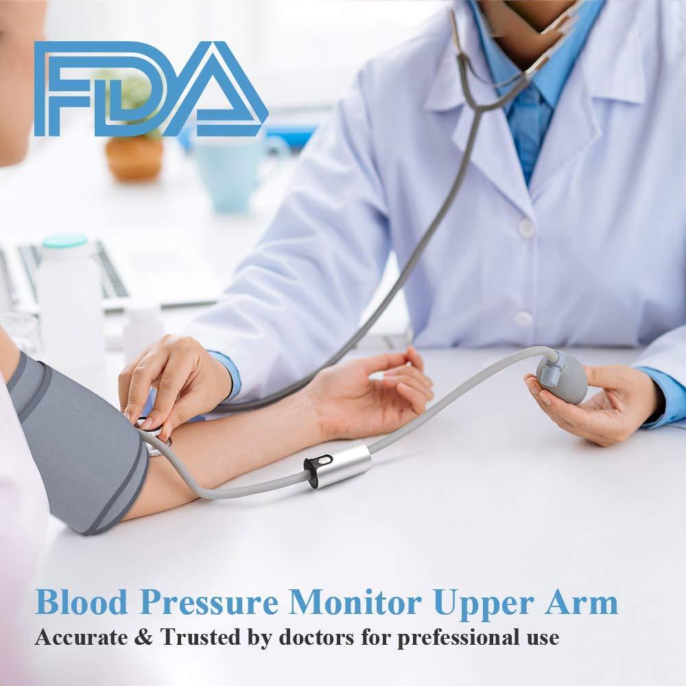 Ultra portátil sem fio bluetooth monitor de pressão arterial braço superior grande manguito multi usuários com app fda aprovado viatom airbp - 5