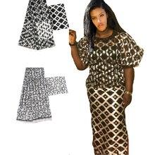 Heißer verkauf Ghana Stil satin seide stoff mit organza band Afrikanischen wachs design! J52602