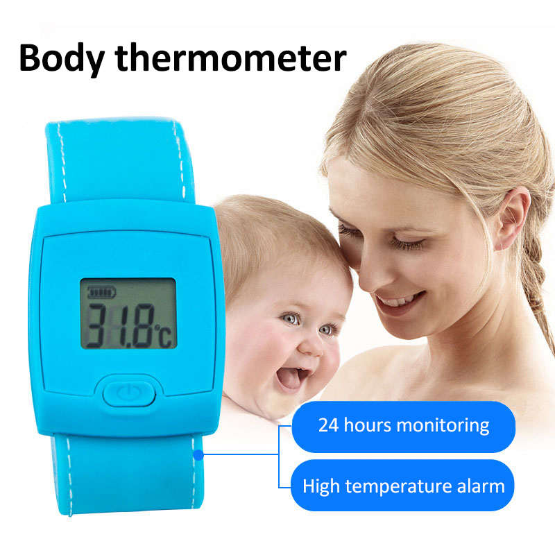 Bluetooth Children Kids Thermometer 4.3 Inches LCD Display Digital Fever Thermometer Intelligent Thermometer For Baby Health