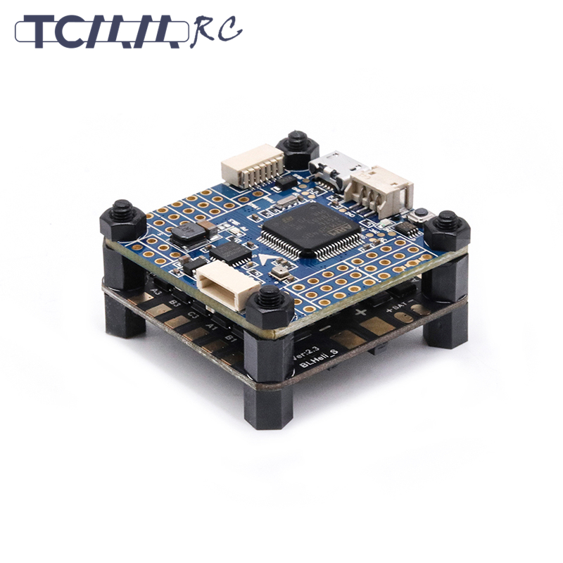 TCMMRC Flying stack Bluetooth Flight Controller <font><b>30A</b></font> ESC 2-<font><b>5S</b></font> Dshot600 4IN1 FPV Racing Drone Racer <font><b>30A</b></font> ESC image