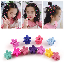 Hair-Accessories Headwear Hair-Claw Flower Candy-Color Small Girls Wholesale-Price Cute