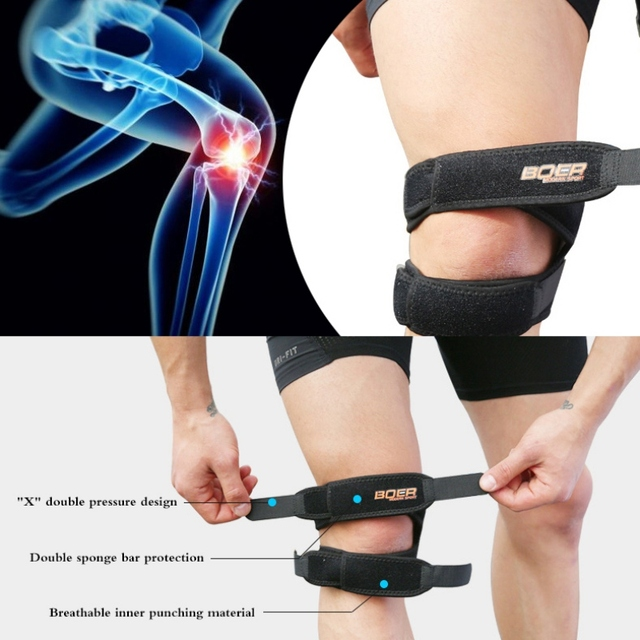 Sports Safety Shin Guard Ankle Joint Protector Exercise Compression Sacrum Belt 1