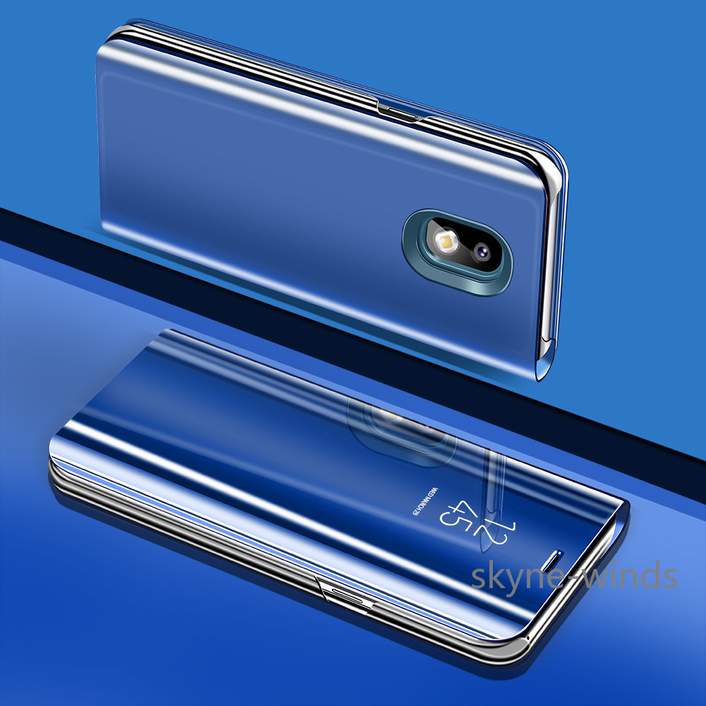 Flip cover for <font><b>Samsung</b></font> Galaxy J5 2017 <font><b>SM</b></font>-<font><b>J530FM</b></font> <font><b>SM</b></font>-J530F Case Translucent capa for Galaxy J7 J3 2017 Case Phone Cover image