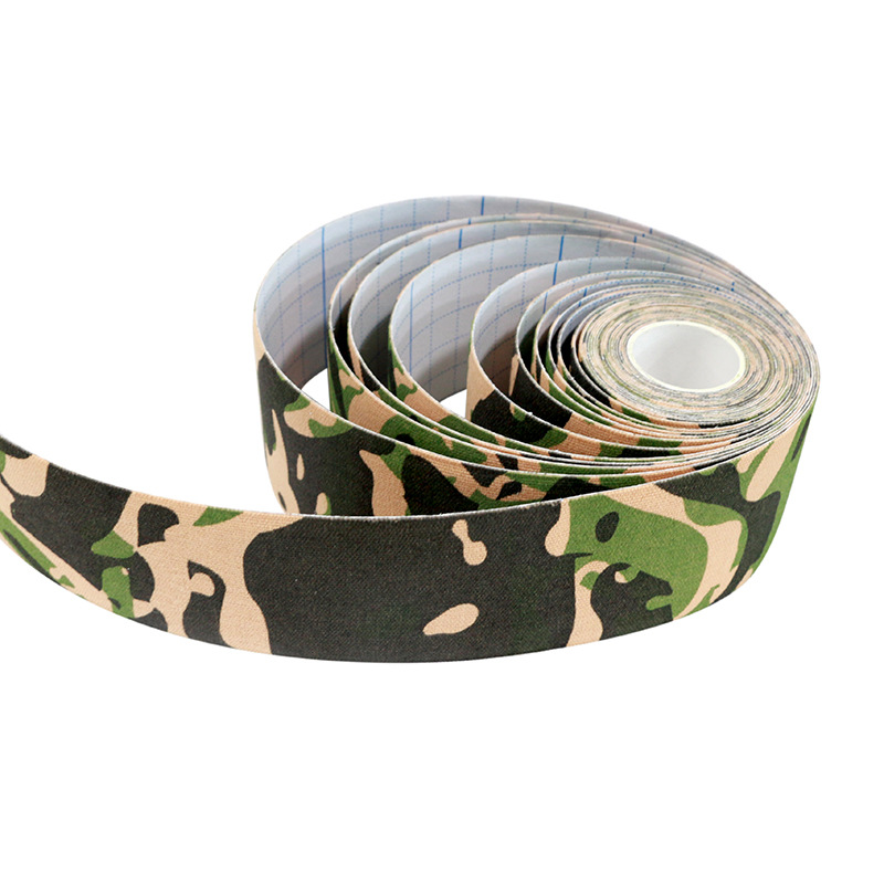 Macure Elastic Sports Tape Camouflage Kinesio Taping Elastic Adhesive Tape