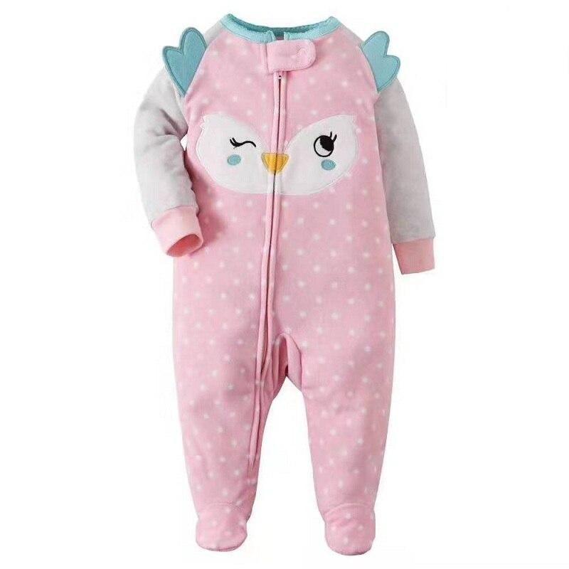 Shusuen/_baby Cartoon Unisex Pajamas Footies New Born Toddlers Sleepwear Cozy Jumpsuit