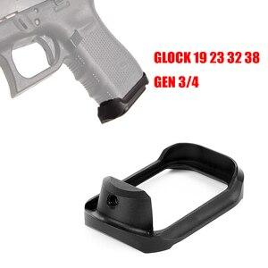 TOtrait Magwell Pro GLOCK 19 23 32 38 GEN 3/4 Glock PRO MAGWELL Mag-Bueno agarre adaptador Base almohadilla