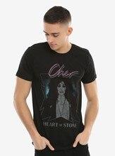 Tee-shirt pour homme, à la mode, avec cœur de pierre, 1