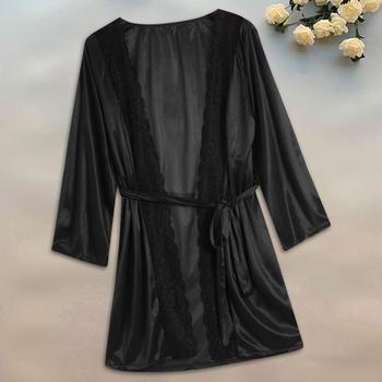 Wedding Robes Women Nightwear Lace Lingerie Sexy 1