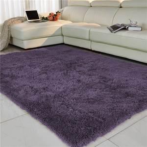 Area-Rug Carpet-Mat Gray Antiskid Faux-Fur Pink Soft Purpule White Living-Room/bedroom