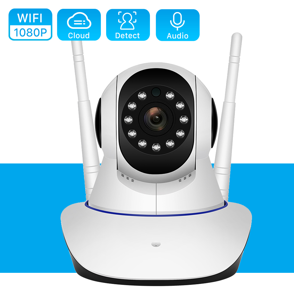 HD 1080P Indoor Wifi Wireless Home Security IP Camera Security Network CCTV Surveillance Video 15M IR Night Vision Baby Monitor