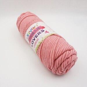 Image 3 - Nouveau 6 pièces amant fil épais pour fils à tricoter tricoté à la main lanas para tejer coton crochet laine aiguilles tissé à la main t49