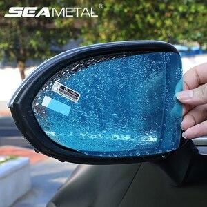 Car Rearview Mirror Waterproof Film Anti-fog Car Rear View Mirror Cleaning Car Windshield Protective Film Window Clear Rainproof